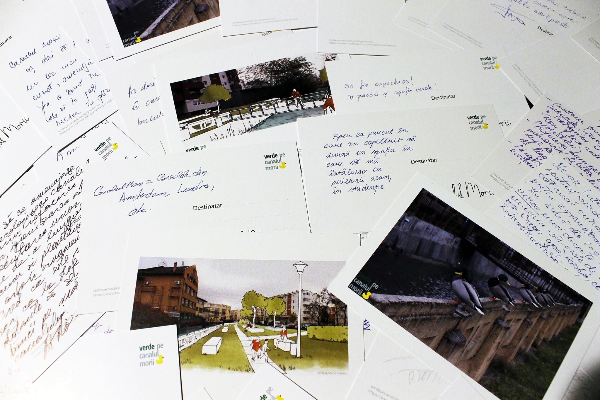 Postcard Canalul Morii