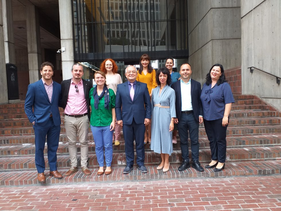 Delegația Clujeană în Statele Unite