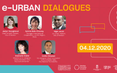 Meet the speakers of the e-Urban Dialogues from December 4, 2020