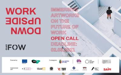 Work Upside Down: apel deschis pentru proiecte artistice